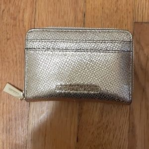 Michael Kors Gold Color Wallet
